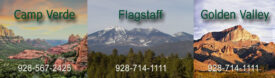 Our Locations: Camp Verde, Flagstaff and Golden Valley