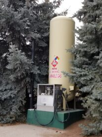 We can fill up your portable propane tanks.