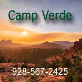 We deliver propane to the Camp Verde and Sedona area.